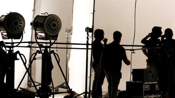 Film Video Production Crews Cameras Lighting Grip Trucks